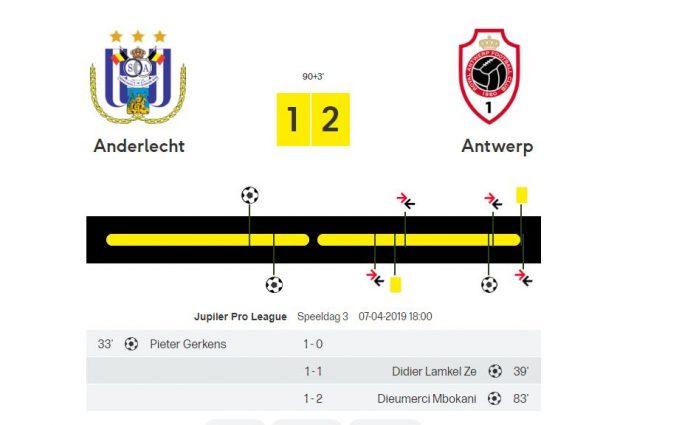 LIVEBLOG: Anderlecht - Antwerp volg je hier! - Livestream ...